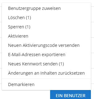 (Re)send activation mail
