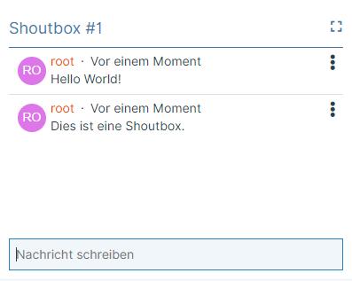 SoftCreatR Shoutbox