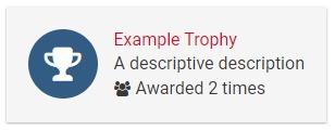 BBCode: Trophy